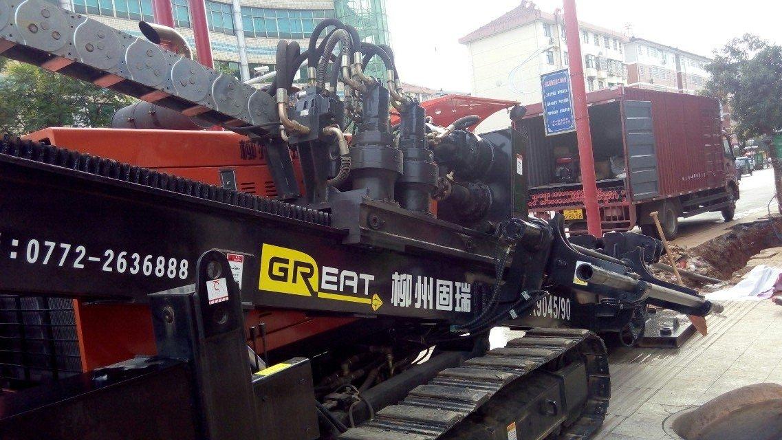 供应广西南宁非开挖45/90吨顶管管道水平定向钻机